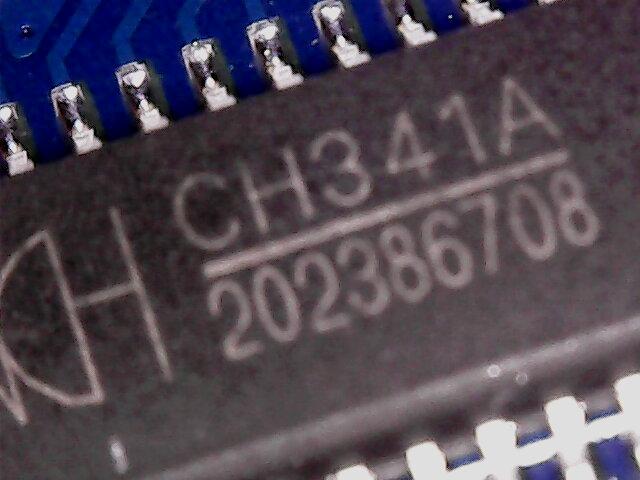 "The magic ""CH341A USB to I2C/IIC/SPI/UART/TTL/ISP/GPIO"